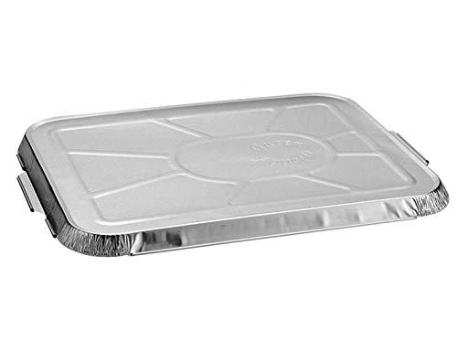 Couvercle en aluminium avec empreinte pour plateau de menu