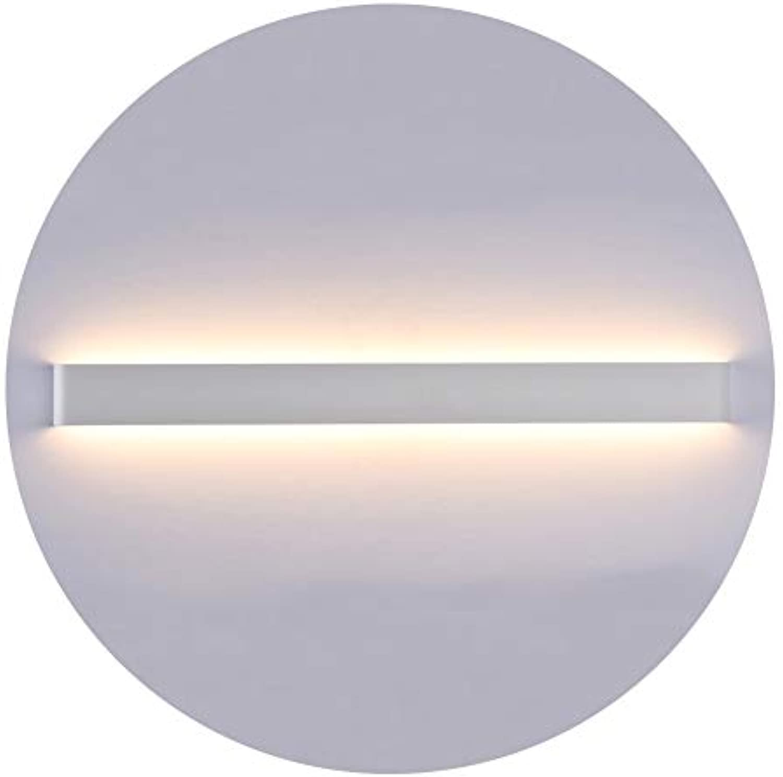 K-Bright 30W LED Spiegelleuchte,32 zoll Innen Wandleuchte,2700K-3000K Warmwei,Spiegelschrank Lampe,Up Down Innen Wandlampe,220V,wasserdicht IP44,Wei
