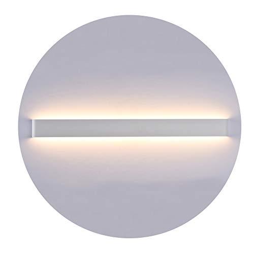 K-Bright 30W LED Spiegelleuchte,32 zoll Innen Wandleuchte,2700K-3000K Warmweiß,Spiegelschrank Lampe,Up Down Innen Wandlampe,220V,wasserdicht IP44,Weiß
