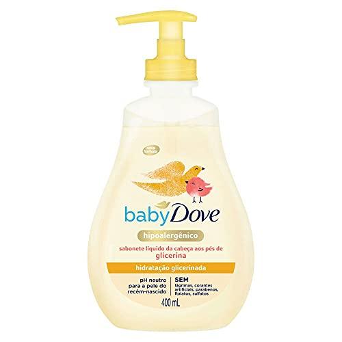 Sabonete Líquido Glicerina Baby Dove Hidratação Glicerinada 400ml