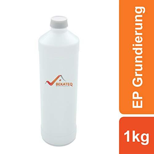 BEKATEQ BK-195EP primer 2K epoxyhars beton buiten - voor estrik, staal, tegels, hout 1kg wit.