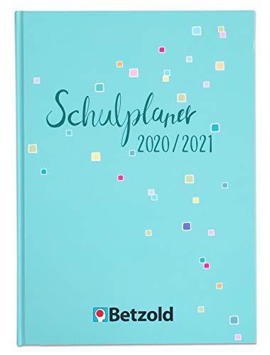 Betzold 757469 - Design-Schulplaner 2020/2021 Hardcover DIN A4 plus Lehrerkalender - Lehrerbedarf Planer Kalender