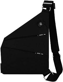Lotisie Bandolera, cruzada al hombro, por el pecho o la espalda, mochila antirrobo, para hombre