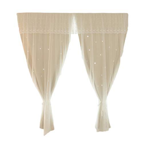cortinas habitacion cortas translucidas
