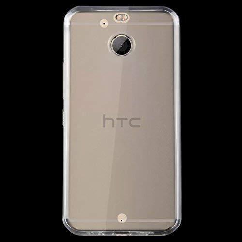 HTC 10 EVO Schutz Hülle Silikon Cover Tasche Schutzhülle Bumper Transparent Etui