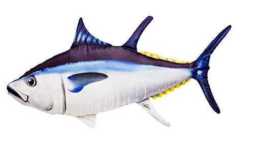 GABY Fish Pillows - Almohada de Aleta de pez atunero Gigante, Multicolor, tamaño Mediano