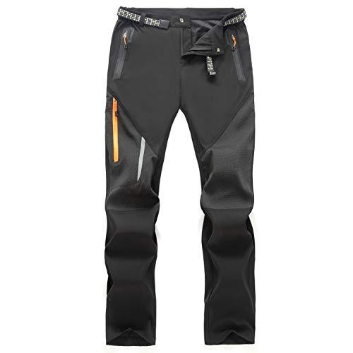 Freiesoldaten Pantalon de Randonnée Léger Hydrofuge pour Homme Pantalon de Sport de Plein Air