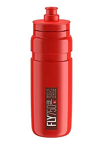 Elite Fly 750 ml, Unisex, Wasserflasche, rot, 750 ml