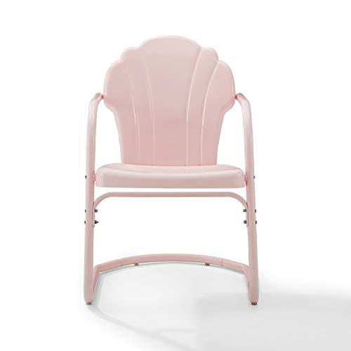 Crosley Tulip 2Pc Chair Set Pastel Pink Gloss