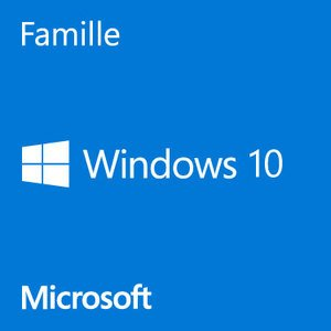Windows 10 Home GGK 64 bit - 1 poste