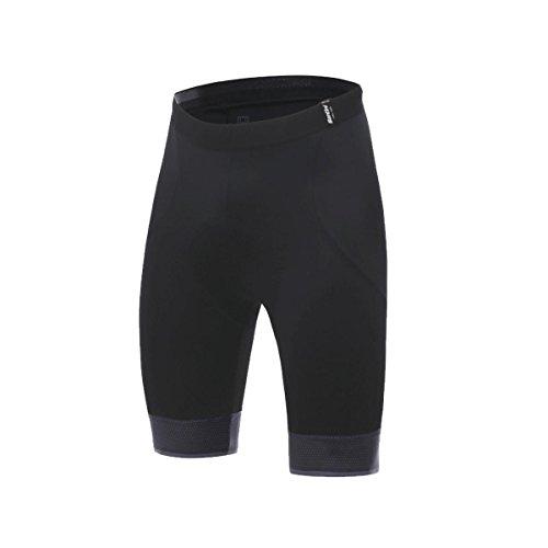 Santini Scatto Pantalones Cortos de Ciclismo, Hombre, Negro, Medium