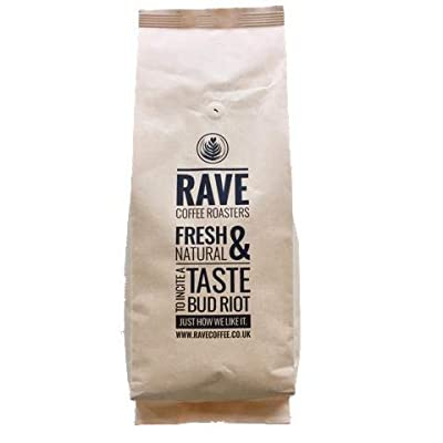 Rave Coffee Signature Blend Award Winning Fresh Roasted Coffee Beans 1 Kg