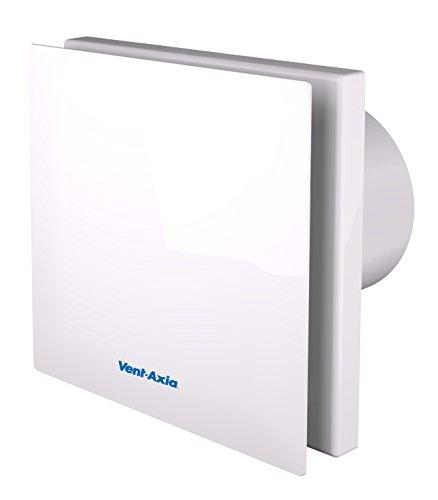 Vent-Axia 446658A ventilator voor badkamer/toilet, stil, axiaalventilator, wit