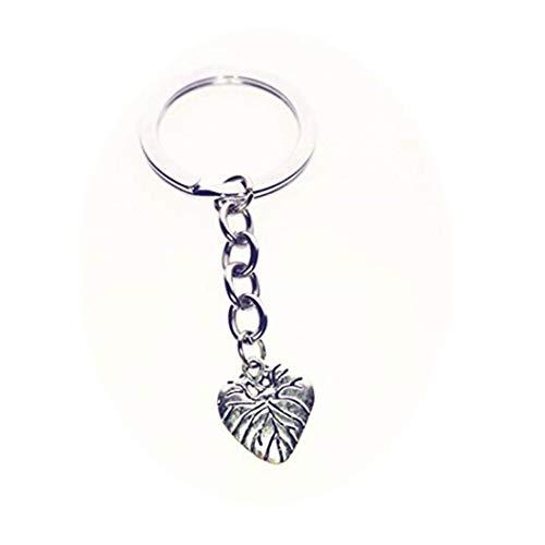 GYKMDF - Llavero hecho a mano con forma de corazón, regalo romántico, llavero