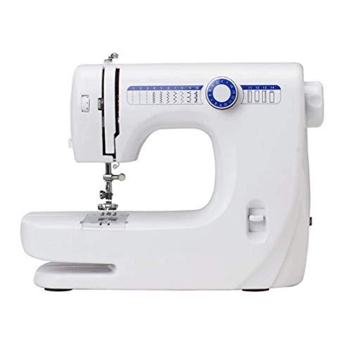Bdesign Máquina de Coser portátil máquina de Coser del hogar 14 Puntadas incorporadas, Bordado, for los niños del hogar Principiantes Uso de Viaje