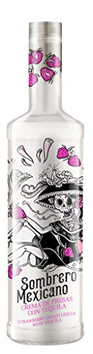 Erdbeeren-Tequila Likör Sombrero Mexicano, 0,7L, 17% vol.