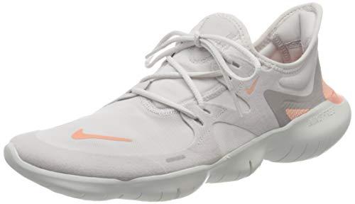 Nike Wmns Nike Free Rn 5.0, Women's Trail Running Shoes, Multicolour (Vast Grey/Pink Quartz/Platinum Tint 5), 3.5 UK (36.5 EU)