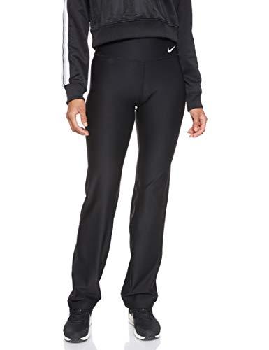 NIKE Women's Power Training Pants, Black/White, Large