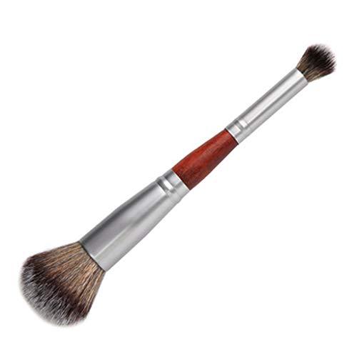 XZJJZ Doble cabeza Profesional Sombra de ojos Base Facial Blush Maquillaje Cepillos y Herramientas (Color: A)