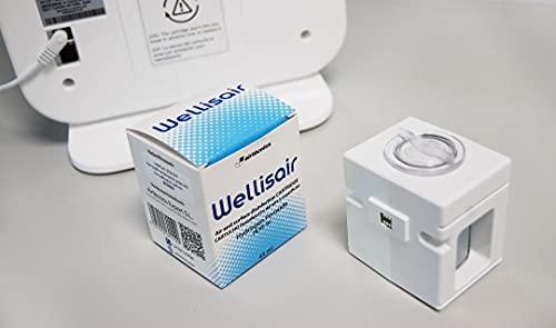 Wellisair Cartucho Recambio Wellisair Purificador de Aire   Tecnología Wellisair   Liberación Radicales Hidroxilos   Elimina el 99,99% de Bacterias, Virus, Hongos y Mohos. Elimina malos olores.
