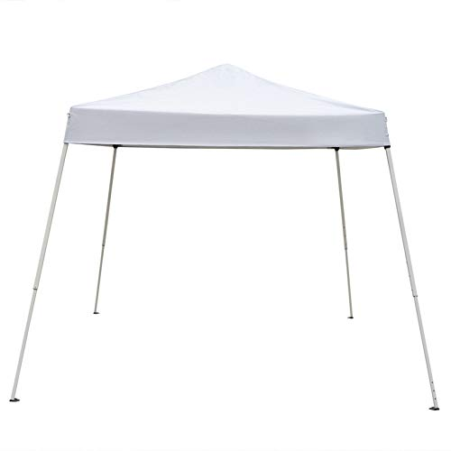 MITPATY 10 x 10' Portable Home Use Waterproof Folding Tent White - Party Tent Portable Carport Shelter Canopy for Outdoor Wedding Garden Party