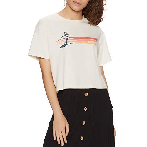 Rip Curl Golden State Crop Camiseta de manga corta - blanco -...