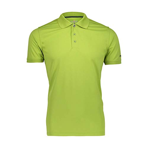 C.P.M. T-Shirt Polo 3t60077, Uomo, Cactus, 48