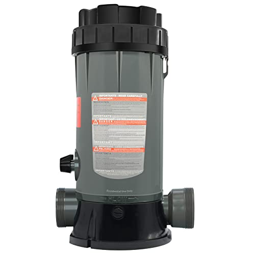 PROPART CL200 in-line Pool Automatic Chlorinator Feeder Replacement Hayward CL200 in-line Pool Automatic Chlorine Feeder, High-Strength ABS Material, More Durable, Easy Installation
