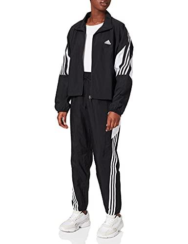 adidas GL9463 W TS WVN GAMETI Tracksuit Womens Black/White M