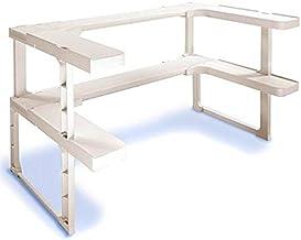 BLBK Estante telescópico, estante de almacenamiento de especias para la cocina del hogar, estante de almacenamiento y clas...