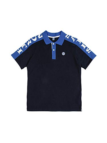 NORTH SAILS Ct piqué Maglietta Polo, Blu (Navy Blue 0802), XXL Uomo