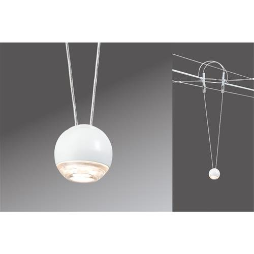 Paulmann 941.03 Seilsystem, Metall, Integriert, weiß