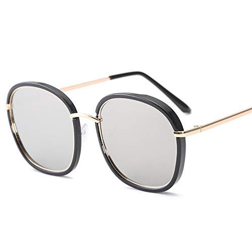 Astemdhj Gafas de Sol Sunglasses Nuevas Gafas De Sol Poligonales De Moda para Mujer, Gafas De Sol Vintage De Diseñador, Gafas De Sol Transparentes para Hombres, Gafas Sexis para Panti-UV