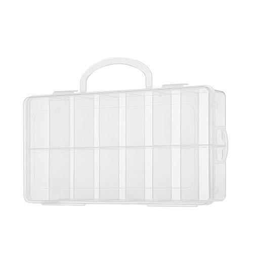 Andere Appliance doorzichtige plastic 14 Grids Box Gereedschap Baits Jewelry naald en draad Organizer for display Collection Home Kitchen supplies