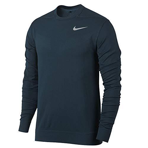 Nike 854330 Maglione Uomo, Uomo, Maglia, 854330, Blu (Blu Navy), L