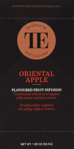 Teahouse Exclusives Luxury Tea Bag Oriental Apple, 52.9 g