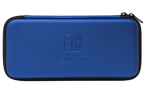【NintendoSwitch対応】スリムハードポーチforNintendoSwitchブルー