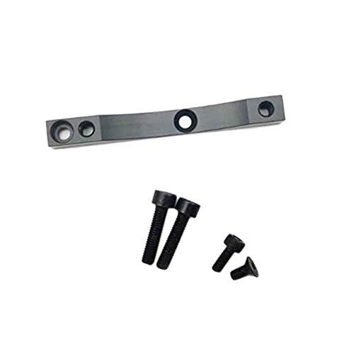 ZRNG Upgrade-Bremslager Adapter gepasst for Xiaomi M365 / M365 Pro XTech Roller Zubehör (Color : Black)
