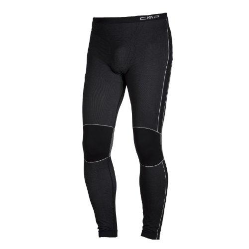 CMP Pantaloni termici 3Y97802 Pantaloni, Uomo, Nero, S/M, Nero, S/M