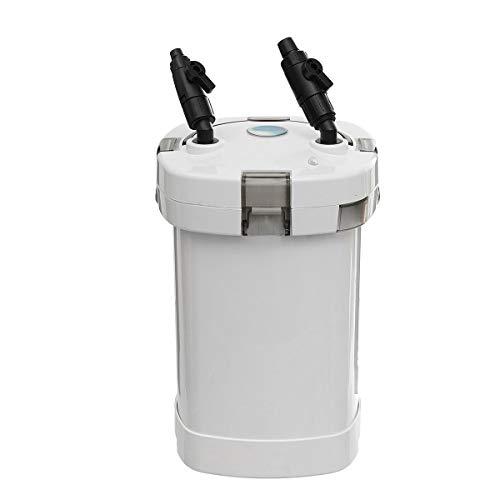 Pondlife - HW-505A Aquarium Außenfilter 1000/h 14W 4-Stufen Kammerfilter inkl Filtermaterial