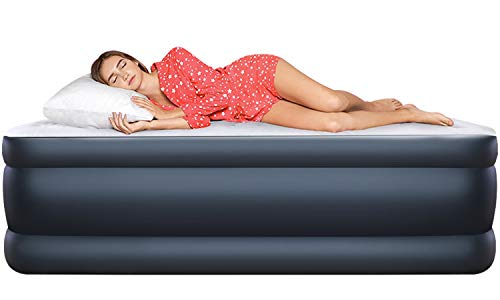 Camabel Queen Air Mattresses with Built-in Electric Pump 22...
