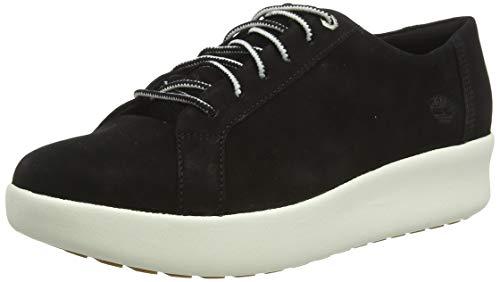 Timberland Berlin Park Oxford, Sneakers Basse Donna, Nero Black Nubuck, 37.5 EU