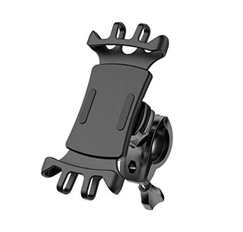 Jancyu Supporto Telefono Bici,Rotabile 360°Universale Porta Cellulare Bici Moto per Samsung Galaxy A51/A71/S20 Plus, Xiaomi Redmi Note 9s/9 PRO, Huawei P40,iPhone 11 PRO Max/X/XR e così Via (1, 1)