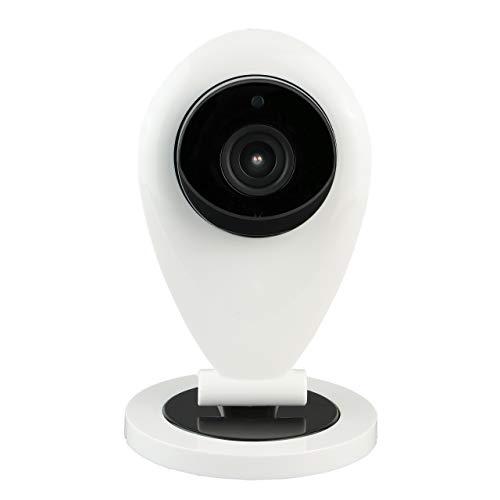 HiKam Überwachungskamera mit App, Support, Datensicherung & Cloud in Deutschland | Personenerkennung | Alexa kompatibel | IP WLAN HD für innen | Babyphone mit Kamera | 2-Wege-Audio | Nachtsicht