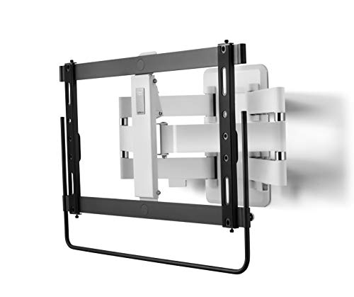 """One For All XL TV Bracket – Screen Size 32-90""""- Unique Handle for Smooth Movement - 120° Turn and 20° Tilt Adjustment – High end Wall Mount - VESA 200x100 to 600x400 - Max Weight 70kg - WM6661"""