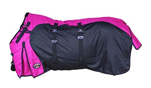 CHALLENGER 78' 1200D Horse Turnout Waterproof Heavy Weight Winter Blanket 5EE20PK