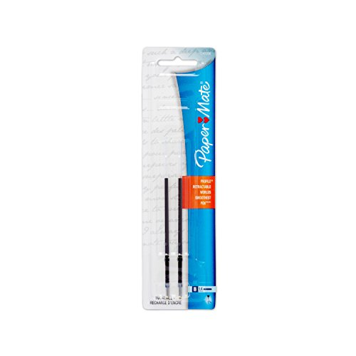 Paper Mate 1747206 Ink Refills for Profile Ballpoint Pen, Bold Point, Blue, 2-Pack