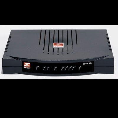 Zoom 5585 X5V 4PORT Adsl Modem Router/Gateway/Firewall