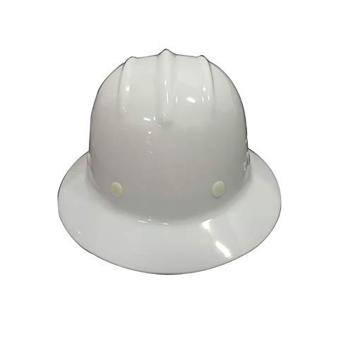 YZJJ Casco de Seguridad Industrial, Casco de construcción rígido, arnés de 4 Puntos, Casco de Protección, Casco de Trabajo Casco