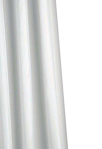 Croydex Professional Textil-Duschvorhang mit Hygiene 'N' Clean, weiß